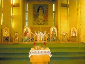 Iconostas - Altar