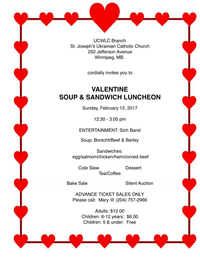 2017-Soup & Sandwich Lunch Notice