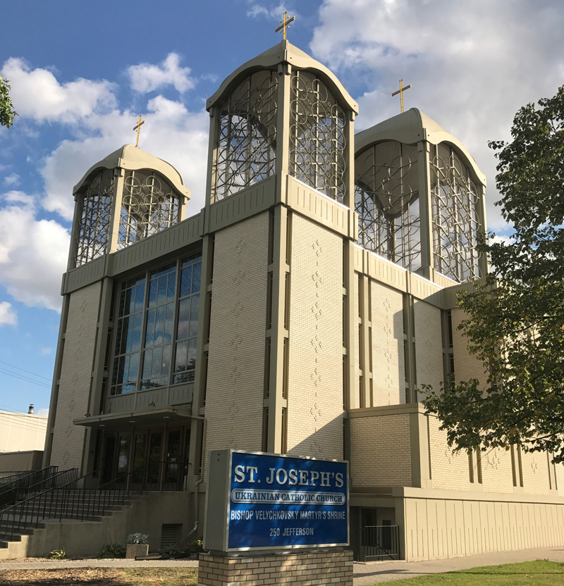 St Josephs Ukrainian Catholic Church-Winnipeg-Manitoba